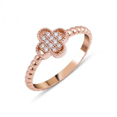 Pétite- Charm Diamond Ring